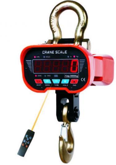 Calibração de balança de gancho
