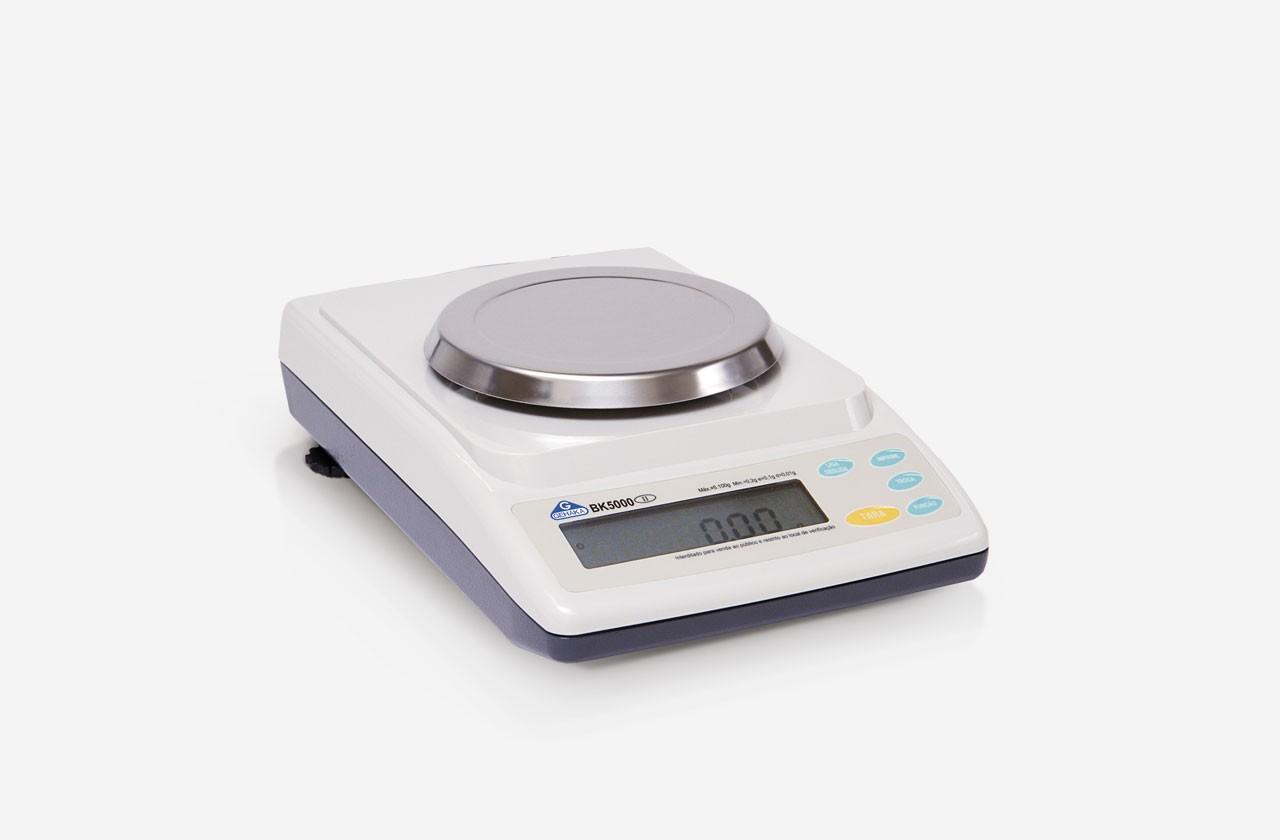 Calibração de balanças de laboratório